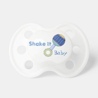 Shake It Rattle Baby Pacifier