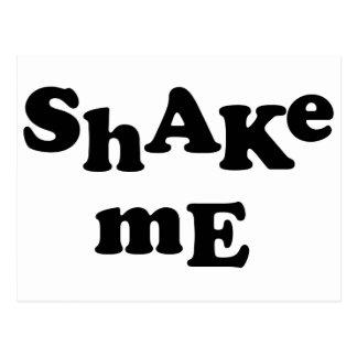 Shake Me Postcard