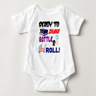 Shake Rattle And Roll Baby Bodysuit