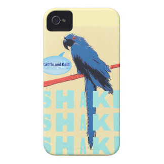 Shake Rattle and Roll Macaw iPhone 4 Covers