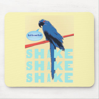 Shake Rattle and Roll Macaw Mouse Pad
