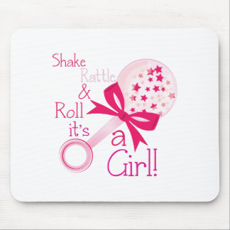 Shake Rattle and Roll Mouse Pad