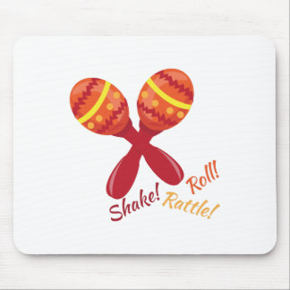 Shake Rattle Roll Mouse Pad
