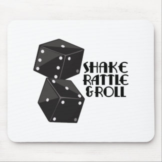 Shake Rattle & Roll Mouse Pad