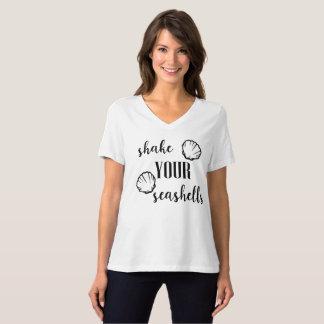 Shake Your Seashells Beach Wedding Bachelorette T-Shirt