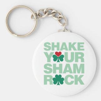 Shake Your Shamrock - Light Keychain