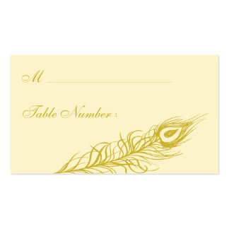 Shake your Tail Feathers Place Card (brown) Pack Of Standard Business Cards