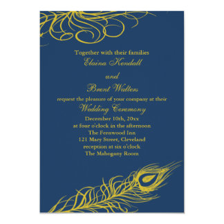Shake your Tail Feathers Wedding Invitation