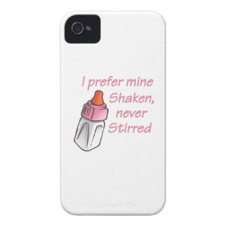 SHAKEN NEVER STIRRED iPhone 4 COVERS