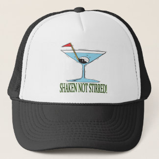 Shaken Not Stirred Trucker Hat