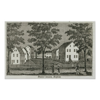 Shaker houses in Enfield Poster