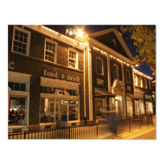 Shaker Square at Night - 1 11 Cm X 14 Cm Invitation Card