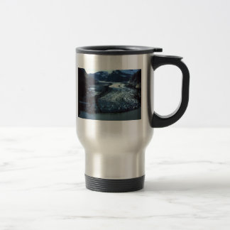 Shakes Glacier in Southeast Alaska Travel Mug