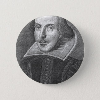 Shakespeare 6 Cm Round Badge