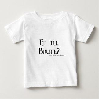 Shakespeare Caesar Quote Products - Et tu, Brute? T-shirt