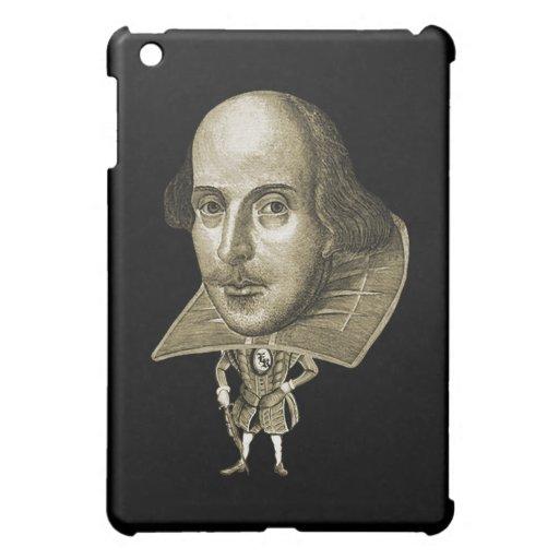 Shakespeare Caricature iPad Mini Covers