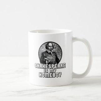 Shakespeare Classic White Coffee Mug