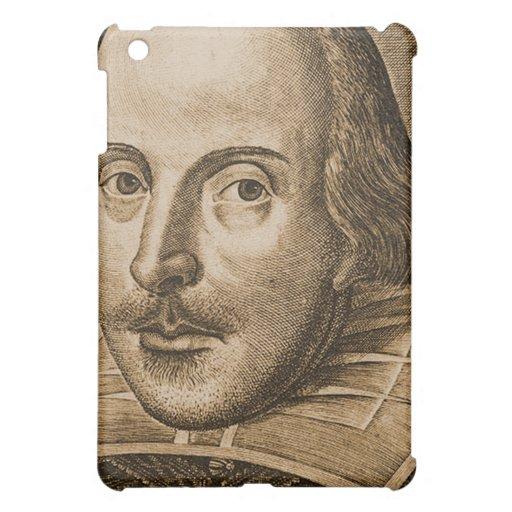 Shakespeare Droeshout Engraving iPad Mini Cases