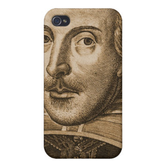 Shakespeare Droeshout Engraving iPhone 4/4S Case