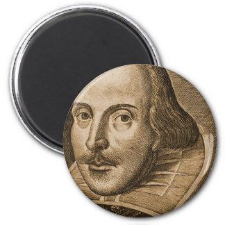 Shakespeare Droeshout Engravings Fridge Magnets