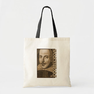 Shakespeare Droeshout Engravings Tote Bag