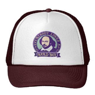 Shakespeare Everybody Loves a Bard Boy Cap