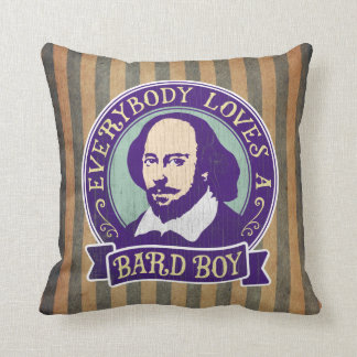 Shakespeare Everybody Loves a Bard Boy Cushion