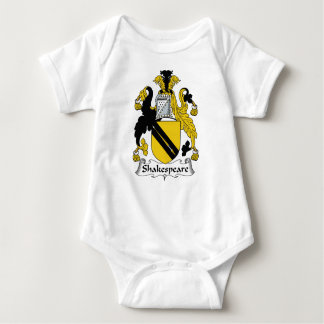 Shakespeare Family Crest Baby Bodysuit
