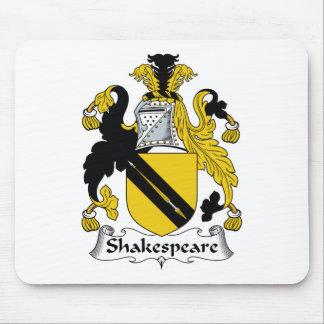 Shakespeare Family Crest Mouse Mat