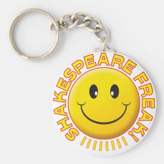 Shakespeare Freak Smile Key Chain