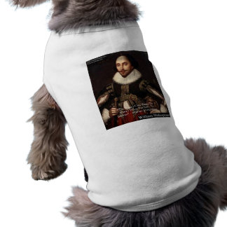 "Shakespeare ""Give Infinitely"" Love Quote Gifts Etc Sleeveless Dog Shirt"