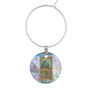 Shakespeare Hamlet quote about possibilities Wine Charm