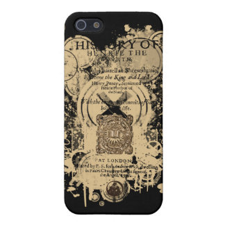Shakespeare Henry IV Part I Quarto Front Piece Cover For iPhone 5/5S