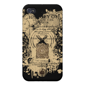 Shakespeare Henry IV Part I Quarto Front Piece iPhone 4/4S Covers