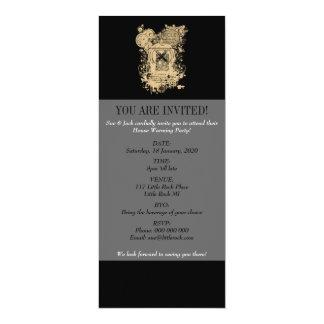 Shakespeare Henry V Quarto Front Piece 10 Cm X 24 Cm Invitation Card