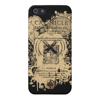 Shakespeare Henry V Quarto Front Piece iPhone 5/5S Case