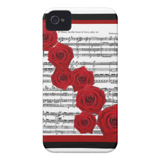 SHAKESPEARE - IF MUSIC BE THE FOOD OF LOVE PLAY ON iPhone 4 CASE