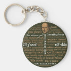 Shakespeare Insults Collection Key Ring