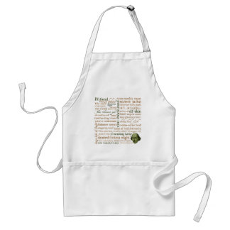 Shakespeare Insults Collection Standard Apron