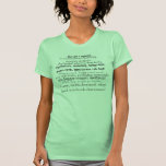 Shakespeare Insults T-shirts