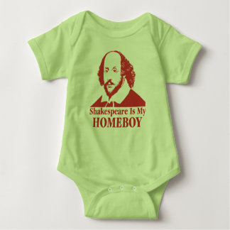 Shakespeare Is My Homeboy Baby Bodysuit