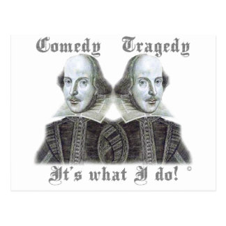 Shakespeare - It s what I do Post Card