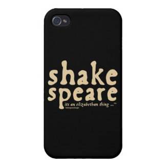 Shakespeare - it's an Elizabethan thing iPhone 4 Cases
