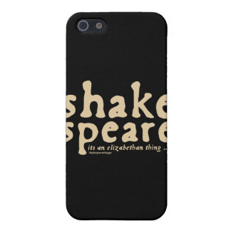 Shakespeare - it's an Elizabethan thing iPhone 5/5S Cover