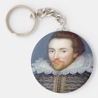 Shakespeare Key Ring