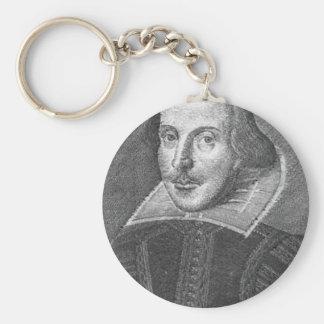 Shakespeare Keychain