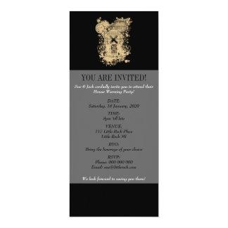 Shakespeare King Lear Quarto Front Piece 10 Cm X 24 Cm Invitation Card