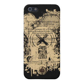 Shakespeare King Lear Quarto Front Piece iPhone 5/5S Cover