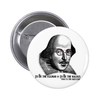 Shakespeare Lennon II 6 Cm Round Badge