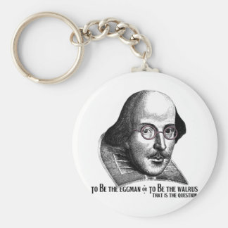 Shakespeare Lennon II Key Ring